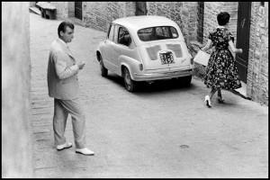 ITALY. San Gimigniano. 1959.
